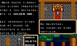 Ax Battler: A Legend of Golden Axe de Sega Game Gear traducido al español