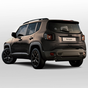Jeep Renegade negro